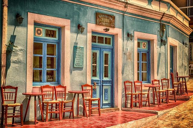 A Greek Cafe