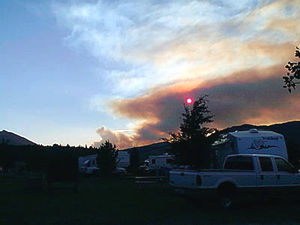 Forest Fire in Idaho